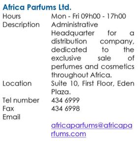 Africa Parfums